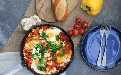 Shakshuka Breakfast for Two